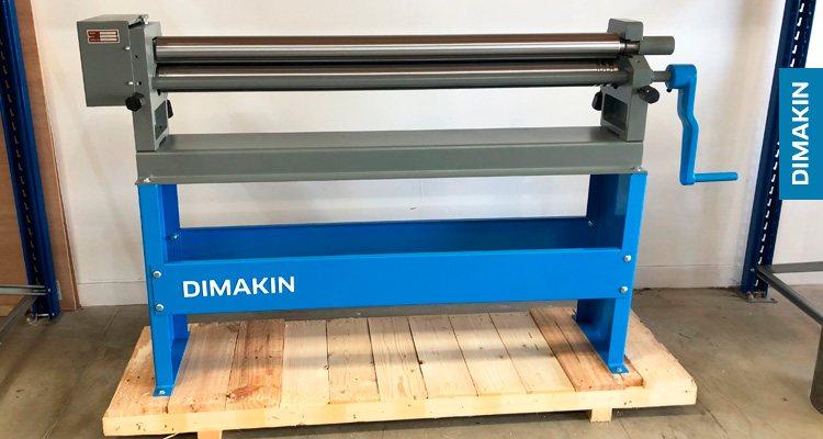 DIMAKIN Manual Slip Roll PR 1316 M
