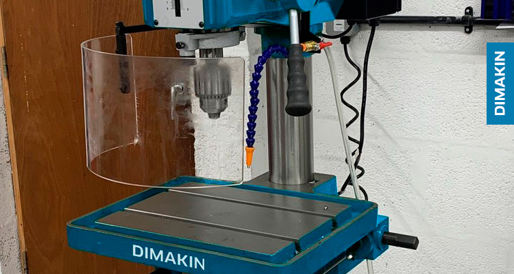 Pillar Drill DP-3810-A is our largest column-style drill press