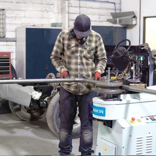 Autostyl and DIMAKIN machinery: Tube Bender and Coldsaw Machines