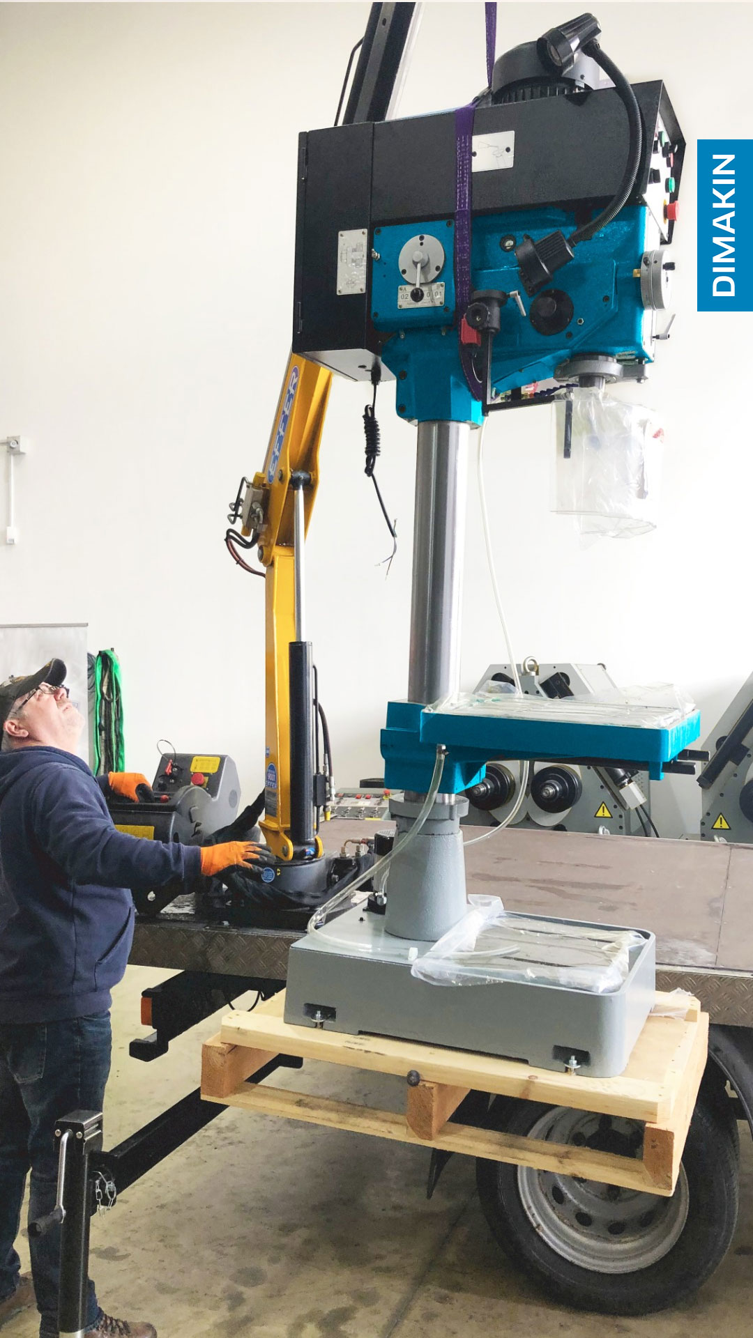 Column Style Drill Press