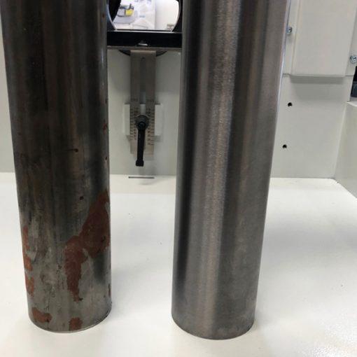 New tube polishers for a perfect round tube finishing!